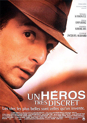 Cartel de 'Un héroe muy discreto' de Jacques Audiard.