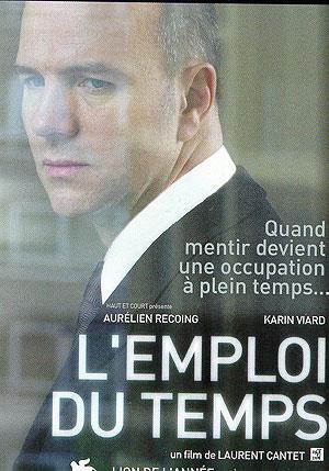 Cartel de 'El empleo del tiempo' de Laurent Cantet.