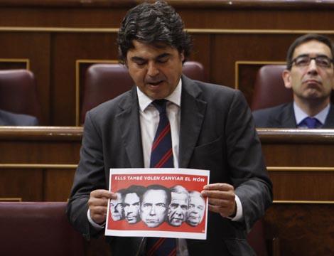 Jorge Moragas, secretario de Relaciones Internacionales del PP. | Efe
