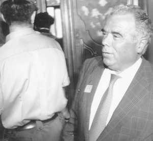 Rosendo Naseiro, en el Supremo, en octubre de 1994 (L.M.)