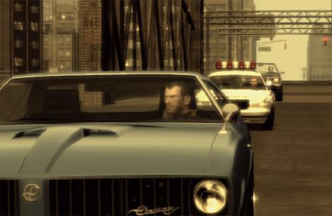 Captura de 'GTA IV', videojuego que batió en ventas a muchos estrenos de cine.