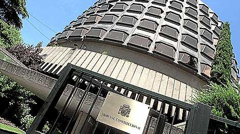Sede del Tribunal Constitucional. | EL MUNDO