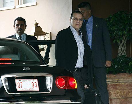 El ministro de defensa hondureño, Arístides Mejía. | Efe