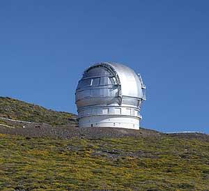 Gran Telescopio de Canarias. (EFE).