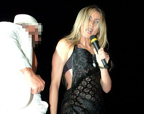Patrizia D'Addario, la prostituta que dice haberse acostado con Berlusconi. | Efe