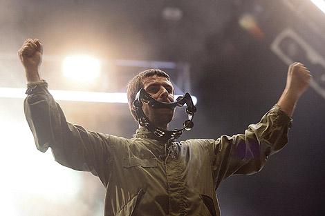 Liam Gallagher en el concierto del FIB. | Efe