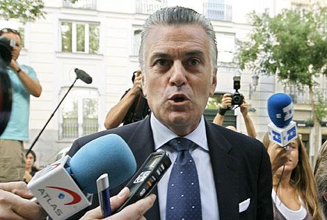Luis Bárcenas, a su llegada al Tribunal Supremo. | Alberto Di Lolli