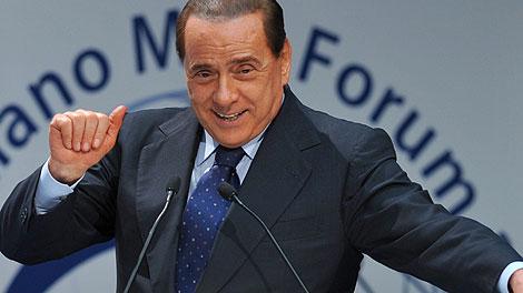 Berlusconi, en un acto reciente. | Afp