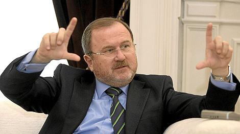 El conseller de Educación del Gobierno valenciano, Alejandro Font de Mora   Benito Pajares