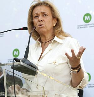 Pilar Martínez, delegada de Urbanismo y Vivienda del Ayto. de Madrid   Gonzalo Arroyo