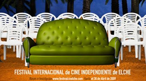 Cartel del Festival de Cine Independiente de Elche.