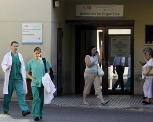 Urgencias del Hospital Gregorio Marañón. (Foto: REUTERS)