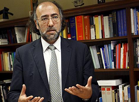 Rogelio Blanco, director general del Libro, Archivos y Bibliotecas. | Efe
