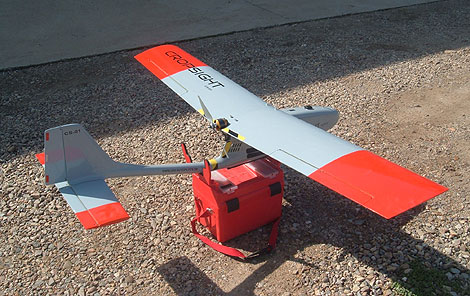 Uno de los aviones no tripulados desarrollados por el CSIC. | CSIC