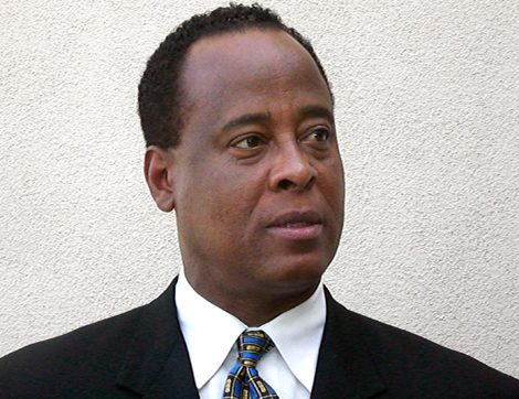 El doctor Conrad Murray. | Afp