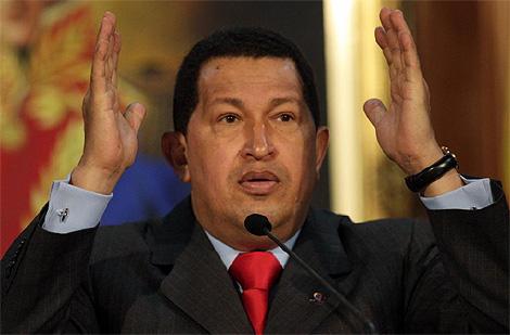 El rpesidente Hugo Chávez, en Caracas. (Foto: Reuters)