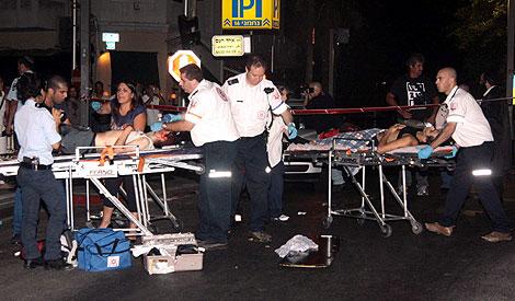 Varios de los heridos en el suceso. | Reuters