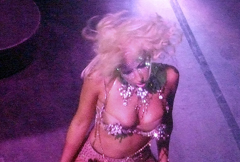 Lady Gaga en Ibiza. | Foto: Pacific Coast News