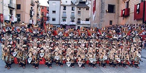 Fiestas de Moros y Cristianos de Concentaina.   J. F.M. C. de Concentaina