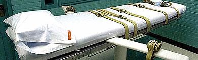 Una cama preparada para la inyección letal a un condenado a muerte.   Reuters