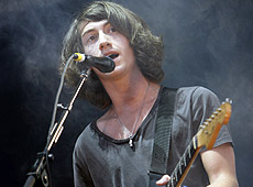 Alex Turner, vocalista y guitarrista. | AP
