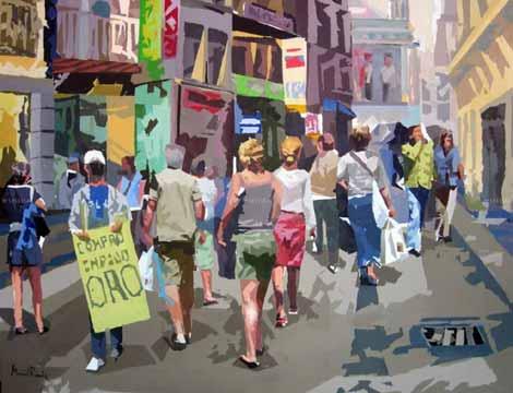 Calle Preciados. (artelista.com)