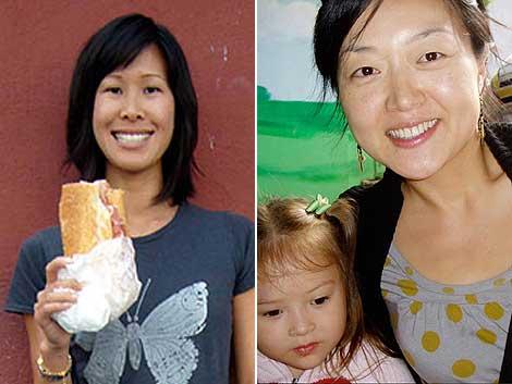 Las periodistas estadounidenses Laura Ling y Euna Lee. | AP
