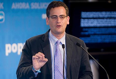 Antonio Basagoiti, presidente del PP vasco. | Justy García Koch