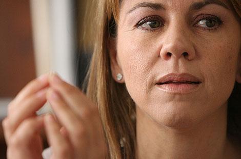 María Dolores de Cospedal, secretaria general del PP. | José Aymá