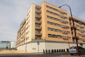 Edificio en el barrio getafense de El Bercial.  El Mundo