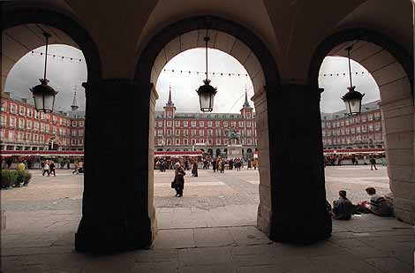 Plaza Mayor de Madrid. (Foto: Javi Martínez)