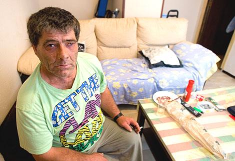 Rafael Ricardi, en su piso del Puerto de Sta. María. | José F. Ferrer