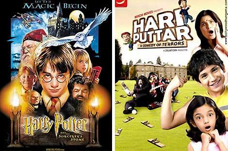 'Harry Potter' vs. 'Hari Puttar'.