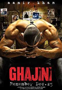 'Ghajini', léase 'Memento'.