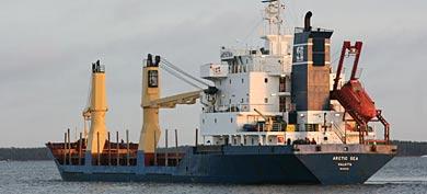 El carguero desaparecido.   AP