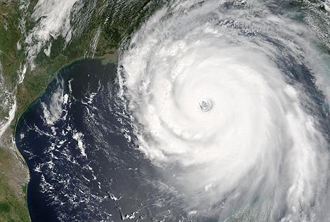 El huracán Katrina en el Golfo de Mexico, 2005. | NASA