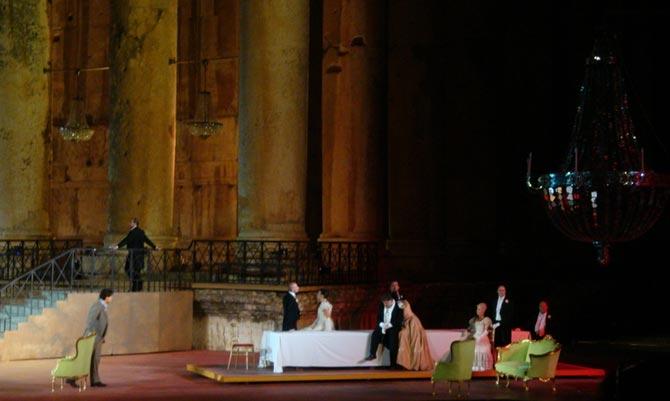 Escena de La Traviata de Verdi.| M. García Prieto