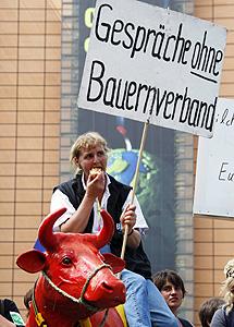 Manifestación en Bruselas. | Reuters