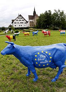 Protesta suiza. | Reuters