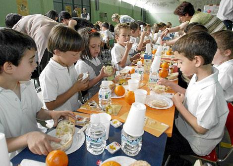 Los comedores escolares dispondrán de menús especiales de régimen ...