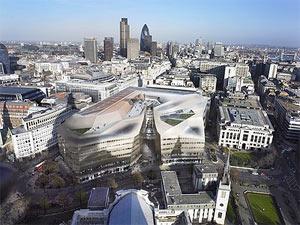 El edificio One New Change, diseñado por Nouvel en 2005. | Land Securities