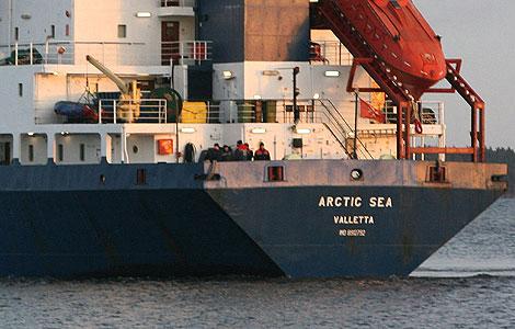 Imagen de archivo del buque 'Arctic Sea'. | AFP