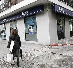 Oficina del BBVA en Madrid.   Javi Martínez