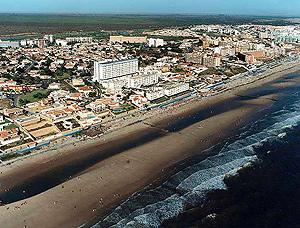 Panorámica de la playa de Matalascañas, en Almonte | MMA