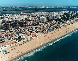 Playa de Punta Umbría, en la localidad del mismo nombre | MMA