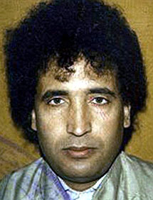 Abdel Basset al Megrahi. | AP