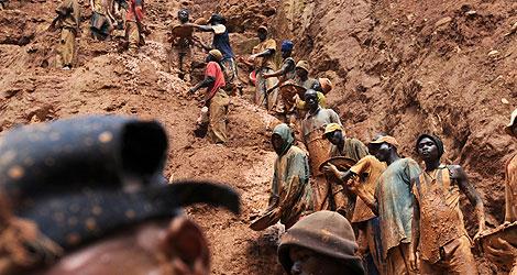 Resultado de imagen para mineria ilegal congo