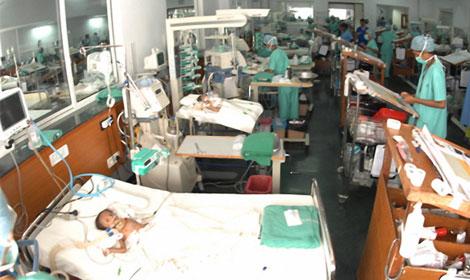 El hospital Narayana, en Bangalore. | M.A.G.M.