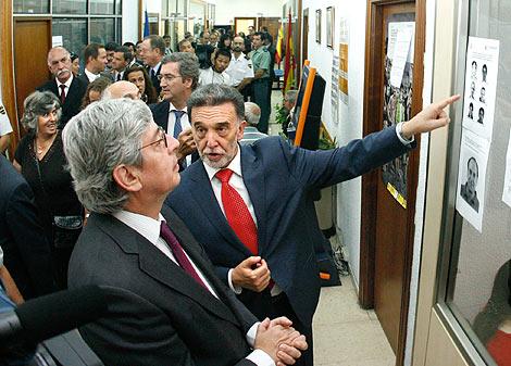 Alejo, en la inauguración del Centro de Cooperación Policial entre Portugal y la región. | Ical