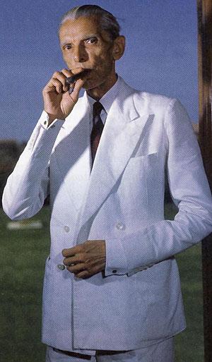 Mohamed Ali Jinnah, fundador de Pakistán.Fotos cedidas por la Oficina de Prensa del Gobierno indio.